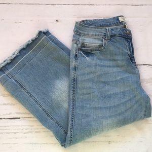 Per Se Cropped Faded Jean